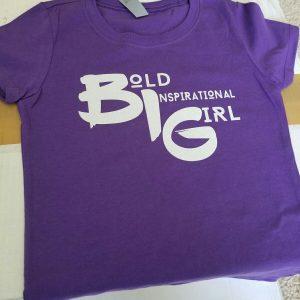 Bold Inspirational Girl